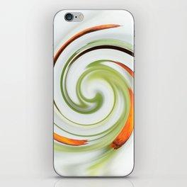 Lily stamen twirled iPhone Skin