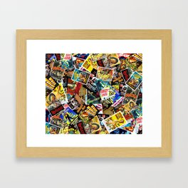 Movie Poster Collage #14 Framed Art Print