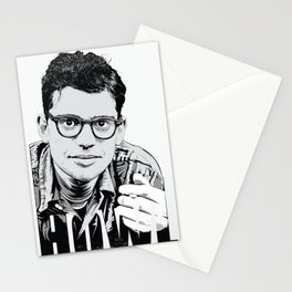 'Howl' - A Portrait of Allen Ginsberg Stationery Cards