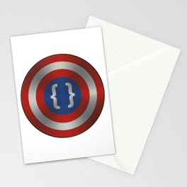 Captain Code Stationery Cards