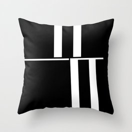 Anxiety Rectangles 1 #minimalism #abstract #geometry #society6 Throw Pillow