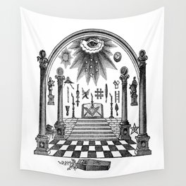 The Pillars Wall Tapestry