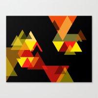 sesame street Canvas Prints featuring SESAME by Stephanie Eades