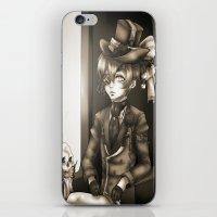kuroshitsuji iPhone & iPod Skins featuring Ciel Phantomhive - The Queen's Watchdog by Lalasosu2