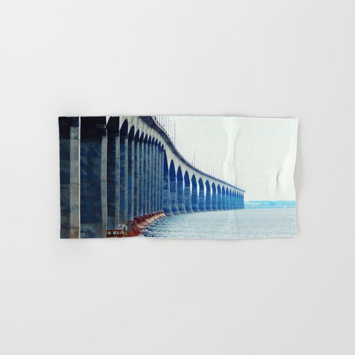Confederation Bridge New-Brunswick Hand & Bath Towel