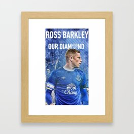 Ross Barkley Framed Art Print