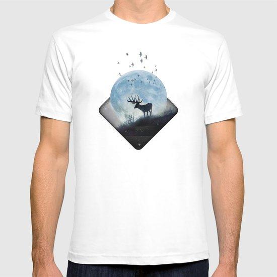 blue moon spill T-shirt