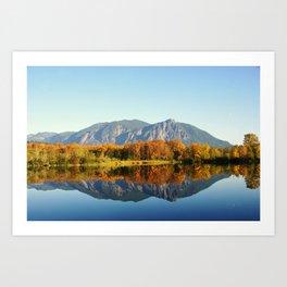 Mt Si Art Print