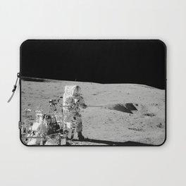 Apollo 14 - Black & White Moon Work Laptop Sleeve