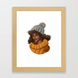 WARM Framed Art Print