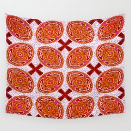 Tribal Shields Abstract Pattern Wall Tapestry