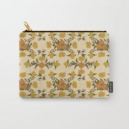 Citrus Print Carry-All Pouch