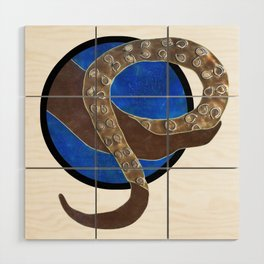 Creature of Water (porthole edit) Wood Wall Art