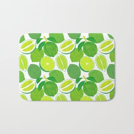 Lime Harvest Bath Mat