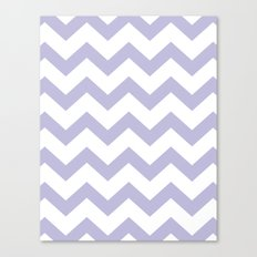 Chevron Lilac Canvas Print