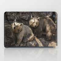 bears iPad Cases featuring Bears by Veronika