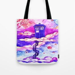 Tardis Colour Tote Bag