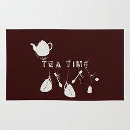 Brown Tea Time Rug