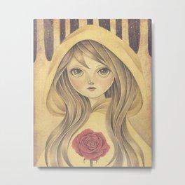 Belle Metal Print