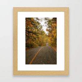 Hilly Framed Art Print