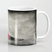 shoe Mugs featuring Painted Shoe by V.L. Durand