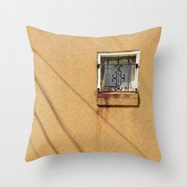 Square Window Throw Pillow