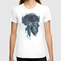 blueprint T-shirts featuring Cranial Blueprint by James Beech