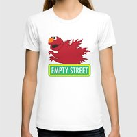 elmo T-shirts featuring Elmozilla by unluckyxiii