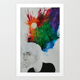Ballistic Therapy Art Print