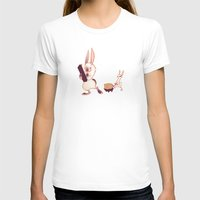rabbits T-shirts featuring Rabbits by Anya McNaughton