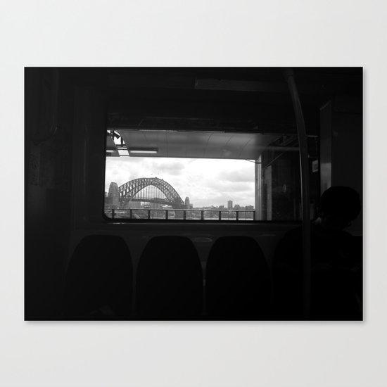 Sydney Morning Canvas Print