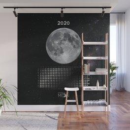 Moon calendar 2020 #5 Wall Mural