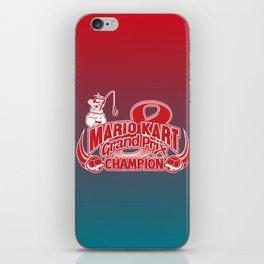 Mario Kart 8 Champion iPhone Skin