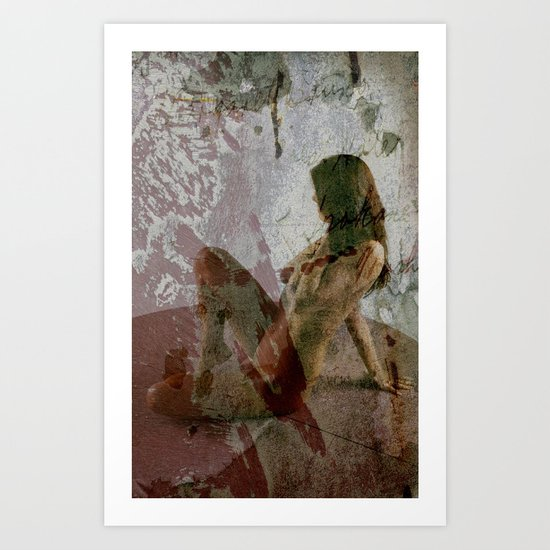 Texture Therapy Art Print