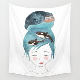 Magic in my head Wall Tapestry