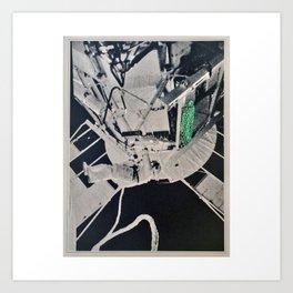 Turtle #7 (Astronaut Satellite Station) [Cecilia Lee] Art Print