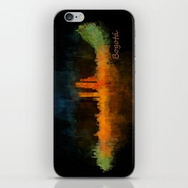 Bogota City Skyline Hq V4 iPhone Skin