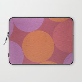 Sunset Shadows Moon Laptop Sleeve