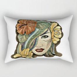 Milaino women face Rectangular Pillow