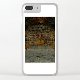 Medival Tavern Clear iPhone Case