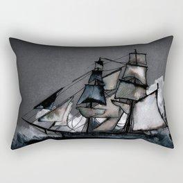 The Tightrope Rectangular Pillow