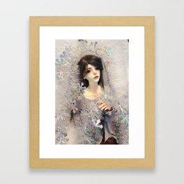 Kallias - Winter Doll Framed Art Print