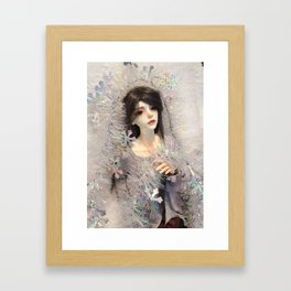Kallias - Winter Doll Framed Art Print