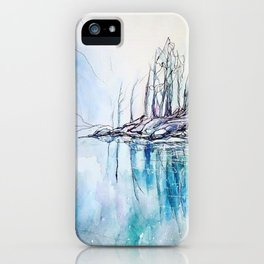 The other side of the mountain iPhone Case