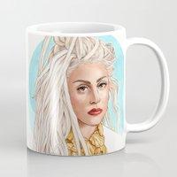 versace Mugs featuring Versace Venus by Helen Green