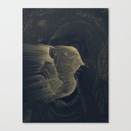 The Blinding Canvas Print
