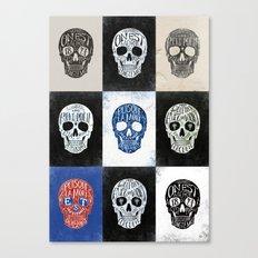 Memento Mori - BMD Design Canvas Print