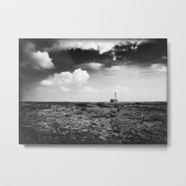 Klein Curaçao (Little Curacao) Lighthouse Metal Print