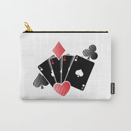 Poker Cards | Casino Gamble Ace Gift Idea Carry-All Pouch