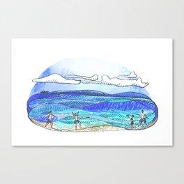 Fris - Beach Canvas Print